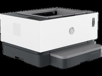 Принтер лазерный HP 4RY23A Neverstop Laser 1000w Printer, A4, 600x600 dpi, 32 Мбайт/500 Мгц, 20 стр/мин, USB,