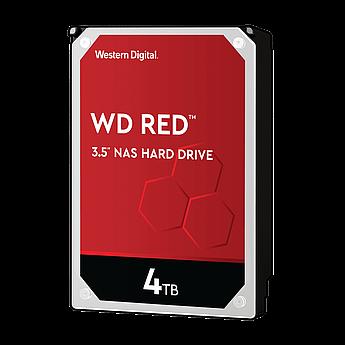 """Накопитель на жестком магнитном диске WD Жёсткий диск WD Red™ WD40EFAX 4ТБ 3,5"""" 5400RPM 256MB (SATA-III) NAS"""