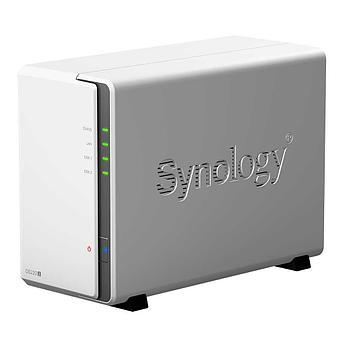Сетевое оборудование Synology Сетевой NAS сервер DS220j 2xHDD для дома