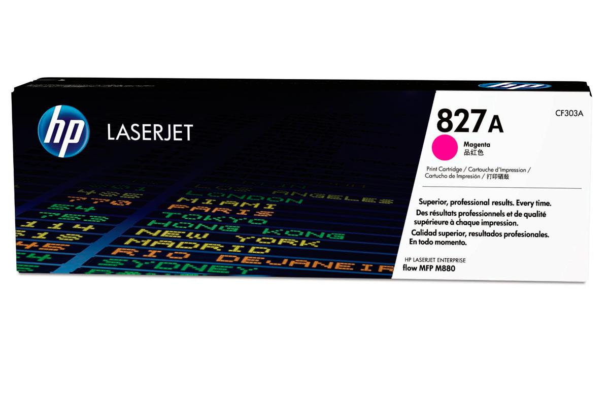 Картридж HP CF303A (827A) Print Cart Toner, 29500 страниц, лазерный, Magenta