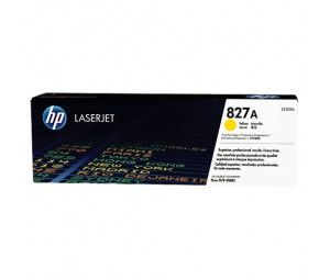 HP CF302A 827A Yellow Toner Cartridge for Color LaserJet M880z/M880z+, up to 32000 pages.