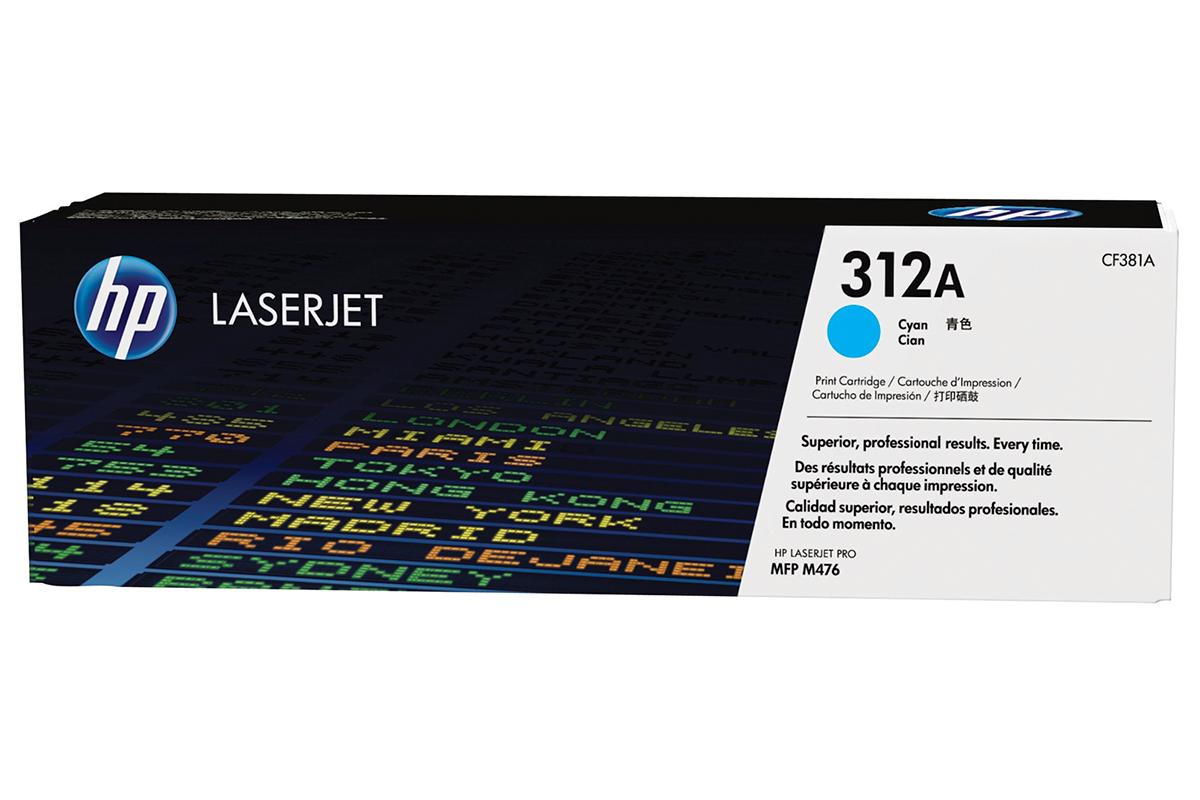 Лазерный картридж HP LaserJet CF381A Голубой