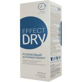 Эффект Драй Effect Dry антиперспирант длительного действия при повышенной потливости ролик 50мл
