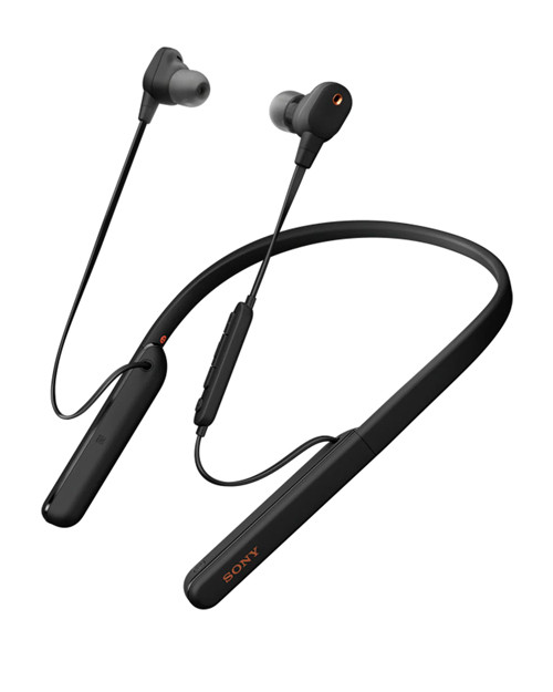 Наушники Sony WI-1000XM2, цвет черный