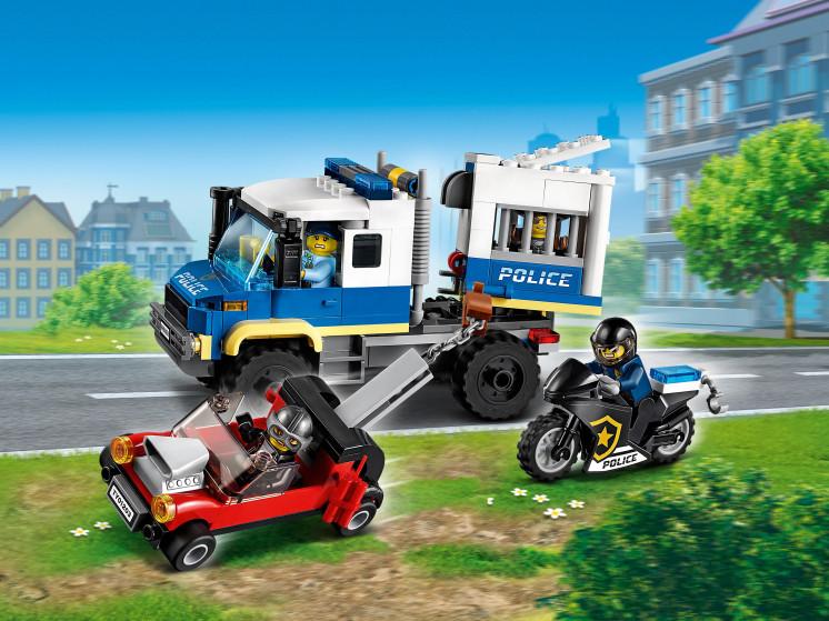 LEGO City 60276 Транспорт для перевозки преступников, конструктор ЛЕГО - фото 1