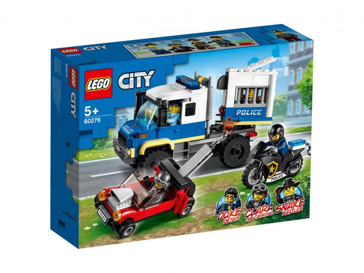 LEGO City 60276 Транспорт для перевозки преступников, конструктор ЛЕГО - фото 2