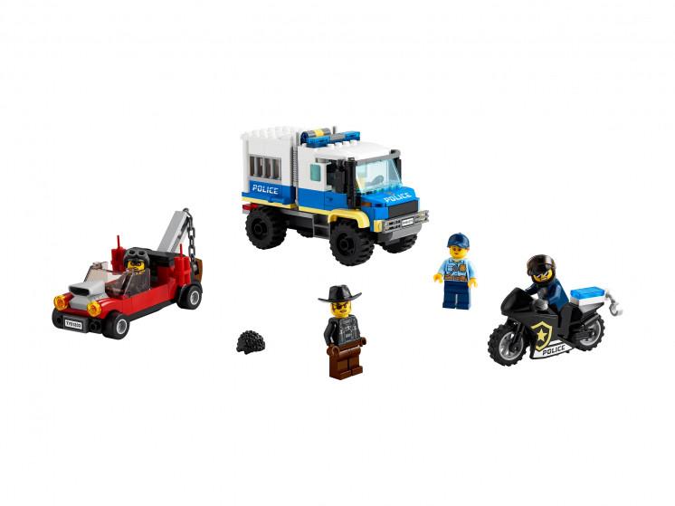 LEGO City 60276 Транспорт для перевозки преступников, конструктор ЛЕГО - фото 3