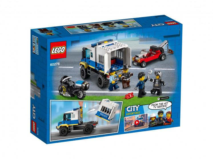 LEGO City 60276 Транспорт для перевозки преступников, конструктор ЛЕГО - фото 4