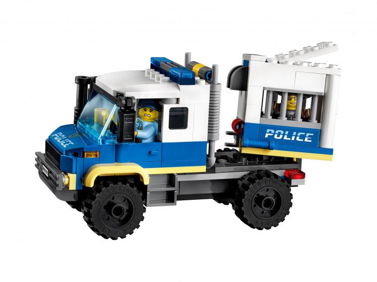 LEGO City 60276 Транспорт для перевозки преступников, конструктор ЛЕГО - фото 5