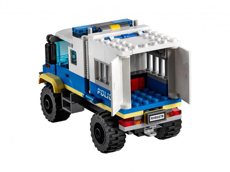 LEGO City 60276 Транспорт для перевозки преступников, конструктор ЛЕГО - фото 8