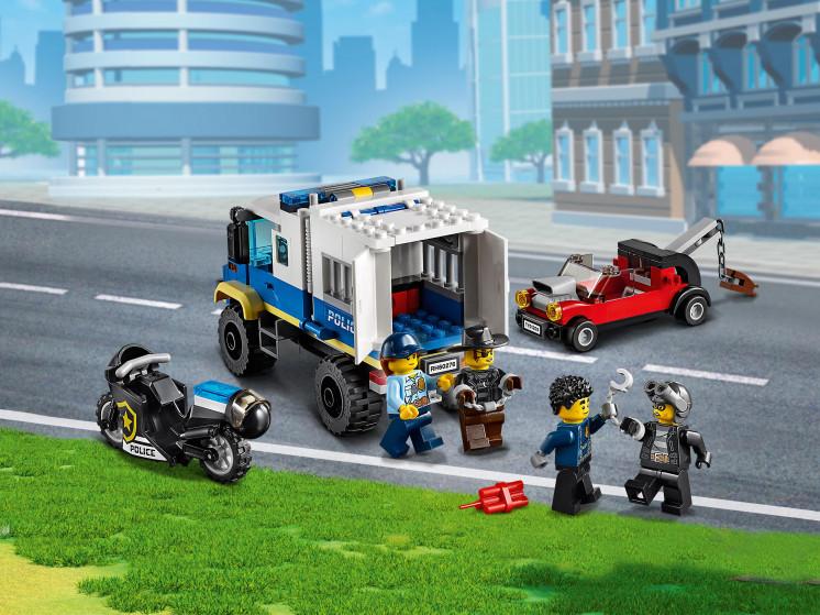LEGO City 60276 Транспорт для перевозки преступников, конструктор ЛЕГО - фото 10