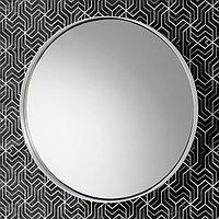 Зеркало «Акваль Юнит» 80 см. черный Белый