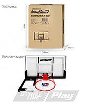 Баскетбольный щит StartLine Play 110 (F), фото 2