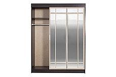 Шкаф для одежды 4Д Лидер 1К, Дуб Линдберг, Стендмебель (Россия), фото 2