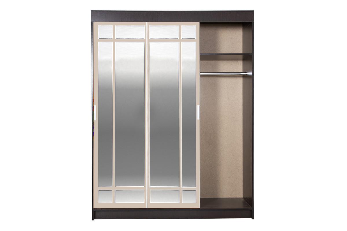 Шкаф для одежды 4Д Лидер 1К, Дуб Линдберг, Стендмебель (Россия)
