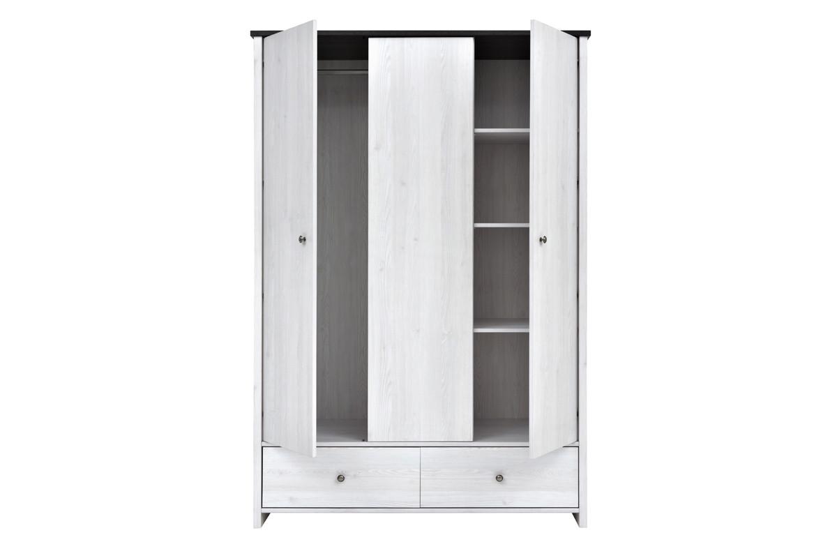 Шкаф для одежды 3Д ПОРТО, Джанни Светлый, БРВ Брест (Беларусь)