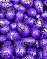 Яйцо шоколадное Мозер Рот Moser Roth с начинкой Praline ореховый крем (Фиолетовые) 1 кг, фото 1