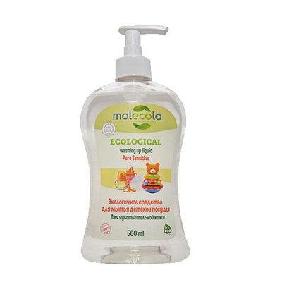 Средство для мытья детской посуды для чувствительной кожи,  экологическое, 500мл, Молекола