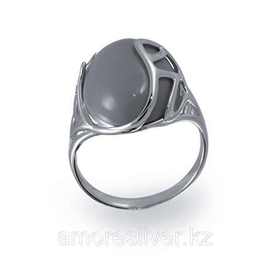 Кольцо Елана серебро с родием, лазурит, овал 211448