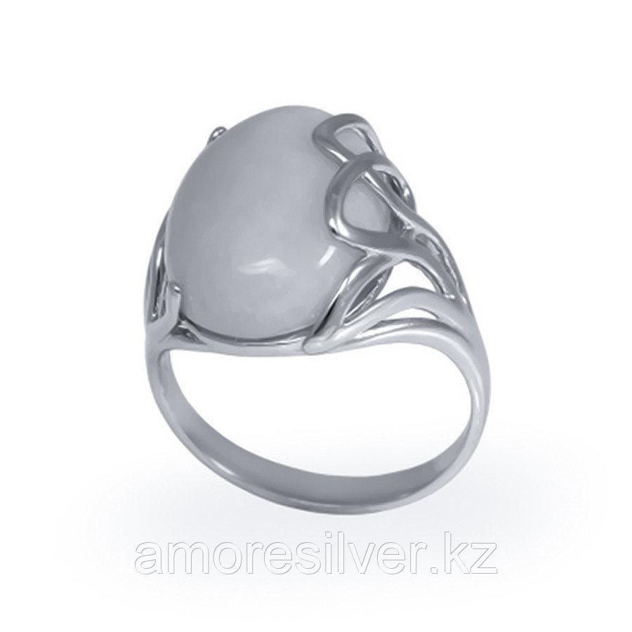Кольцо из серебра с бычим глазом и бронзитом Елана 211446 размеры - 18