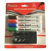 Набор маркеров + губка для маркерной доски