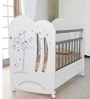 Кроватка детская ВДК Wind Tree маятник c ящиком