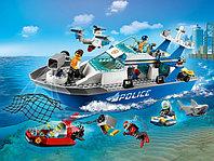 LEGO City 60277 Катер полицейского патруля, конструктор ЛЕГО