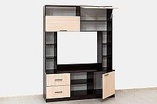 Шкаф для одежды 2Д как часть комплекта Гостиная 3, Дуб Млечный, СВ Мебель (Россия), фото 3