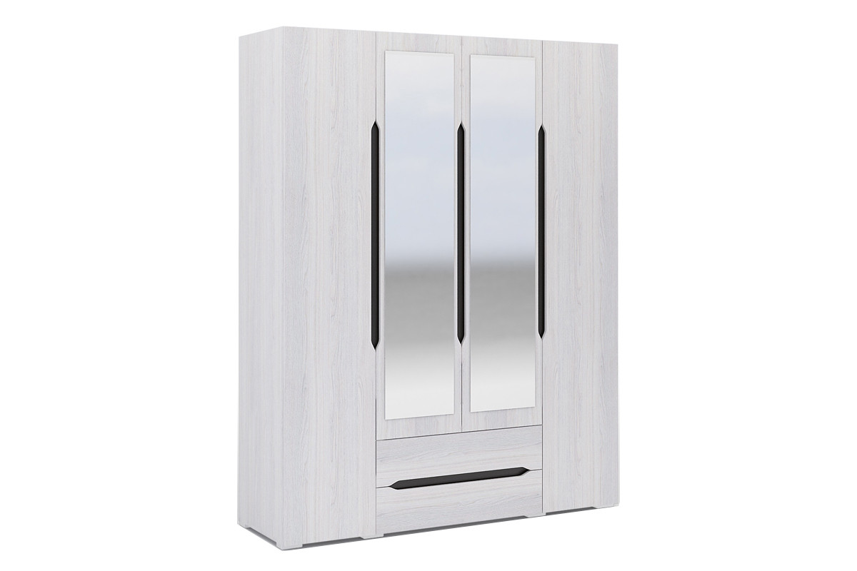 Валенсия ШК 014 - Шкаф 4Д, Анкор, Стендмебель