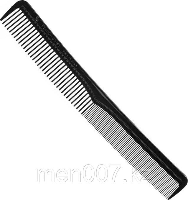 EUROstil (расческа комбинированная чёрная) 17,5 см