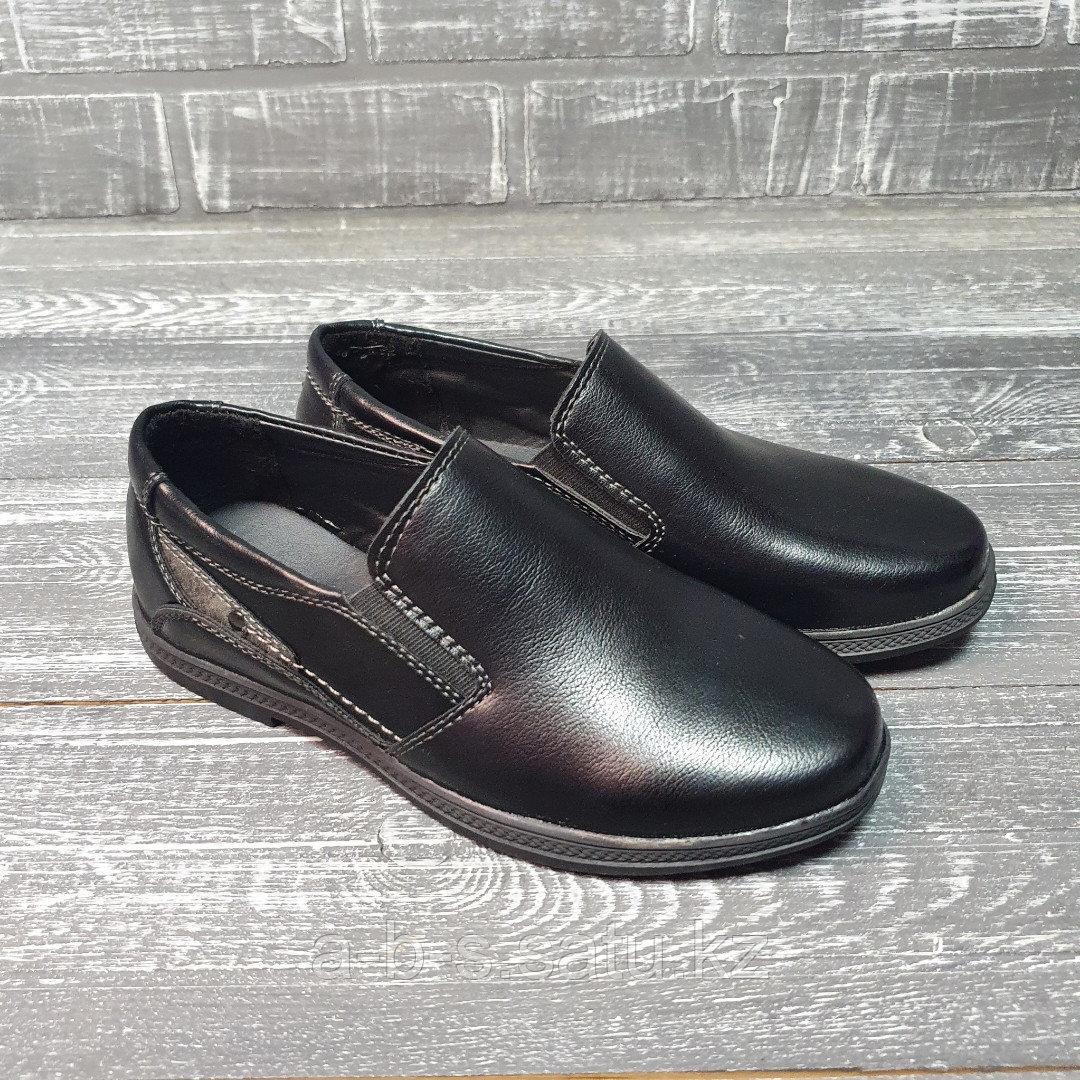 Туфли школьные черные