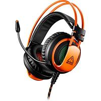 CANYON Gaming headset 3.5mm jack plus USB connector for vibration function, light control button, adjustable