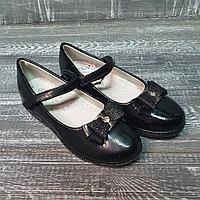 Туфли черные лакированые