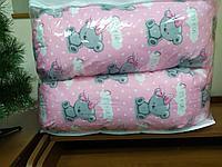 Подушка для беременных мишки/розовый