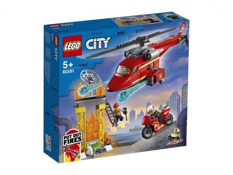 LEGO City 60281 Спасательный пожарный вертолёт, конструктор ЛЕГО - фото 2