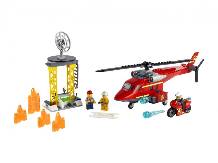 LEGO City 60281 Спасательный пожарный вертолёт, конструктор ЛЕГО - фото 3