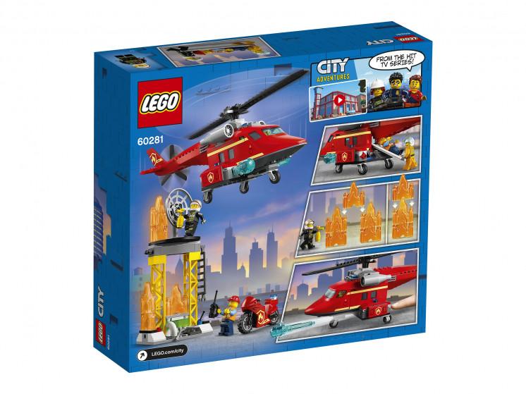 LEGO City 60281 Спасательный пожарный вертолёт, конструктор ЛЕГО - фото 4