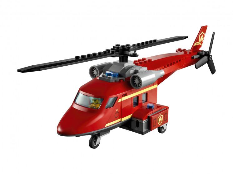 LEGO City 60281 Спасательный пожарный вертолёт, конструктор ЛЕГО - фото 5