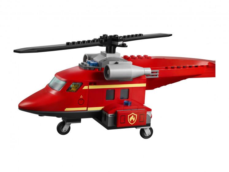 LEGO City 60281 Спасательный пожарный вертолёт, конструктор ЛЕГО - фото 8