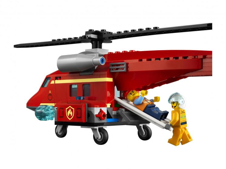 LEGO City 60281 Спасательный пожарный вертолёт, конструктор ЛЕГО - фото 9