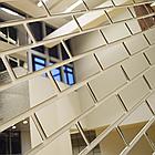 Серебрянный зеркальный листовой акрил (5мм) 1,22мХ2,44м, фото 3