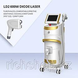 Лазер для удаления волос 808nm LD2 мощностью 600w