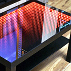 Акрил 1,5мм (зеркало полупрозрачный INFINITY MIRROR) 1,22*2.44, фото 3