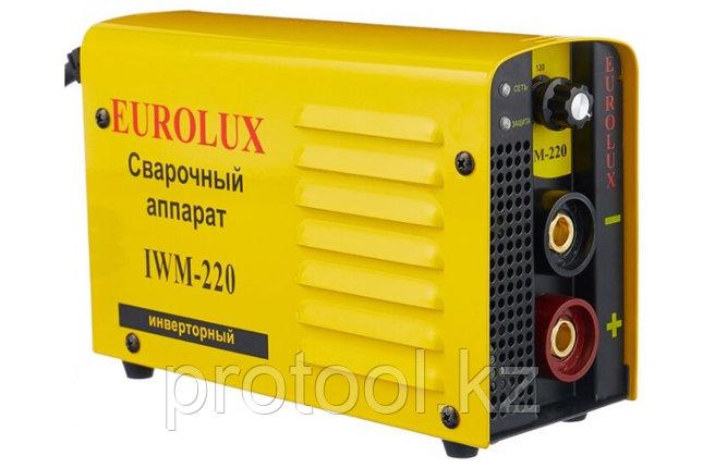 Сварочный аппарат  инверторный  IWM220 Eurolux, фото 2