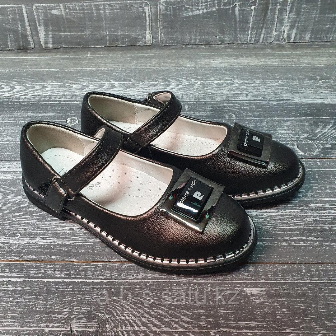 Туфли в стальном цвете pierr cardin