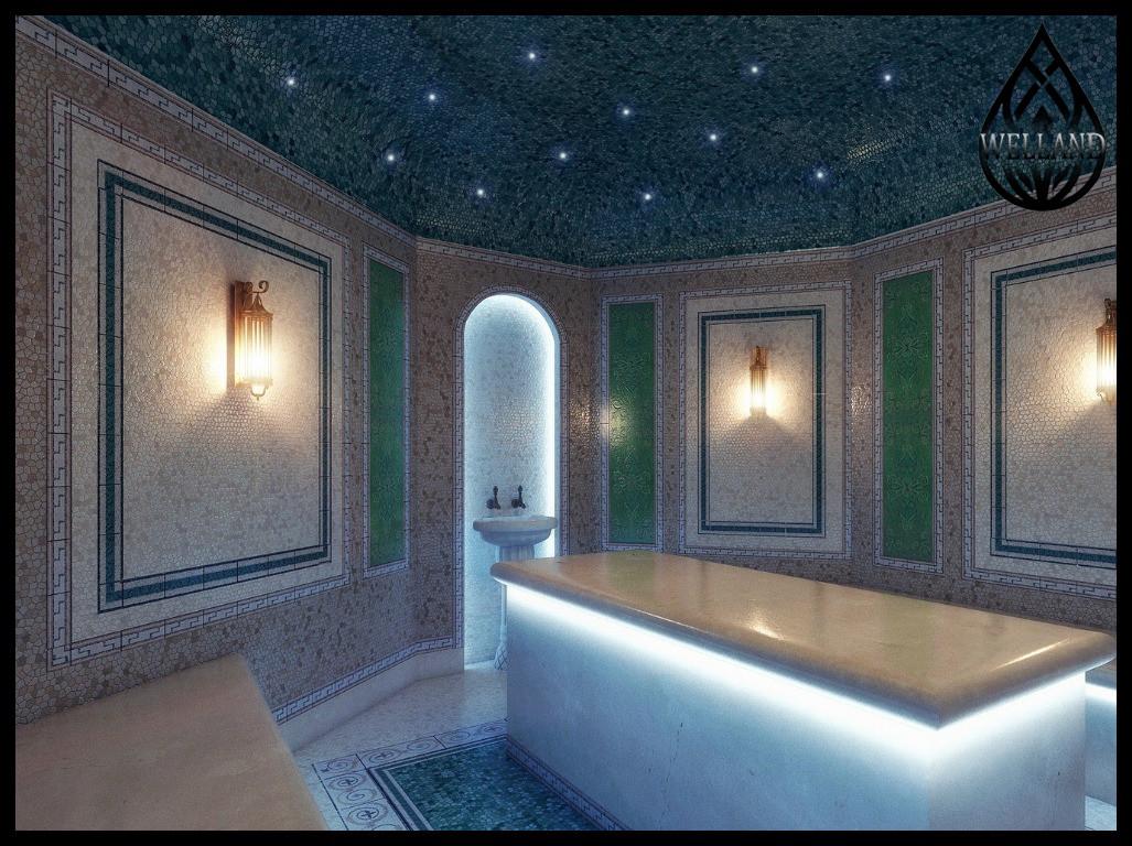 Дизайн паровых комнат (steam room)