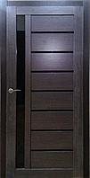 """Межкомнатная дверь ПВХ пленка """"Вертикаль"""", цвет Дуб дымчатый"""