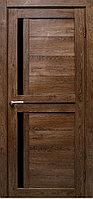 "Межкомнатная дверь ПВХ пленка ""Медиана"", цвет Дуб шоколадный"