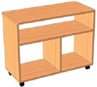 Тумба-стол универсальный для детского сада (800х400х620) арт. СТМ9