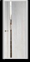 "Межкомнатная дверь ПВХ пленка ""Киото"", цвет Дымчатый ,Крем, Акация"